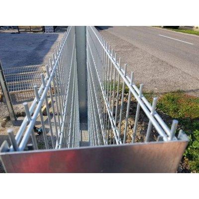 240cm Gabiónový stĺpik