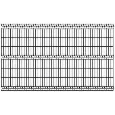 153cm Čierny Panel Classic 3D