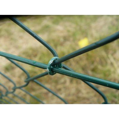 Svorky rocafix 1000ks zelené
