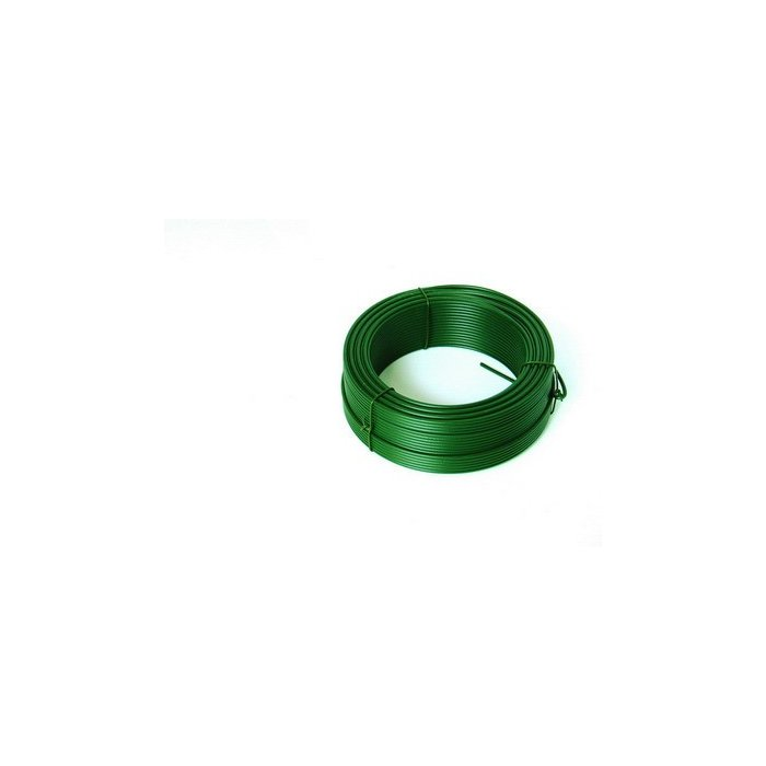 25m Viazací drôt zelený 2,6mm