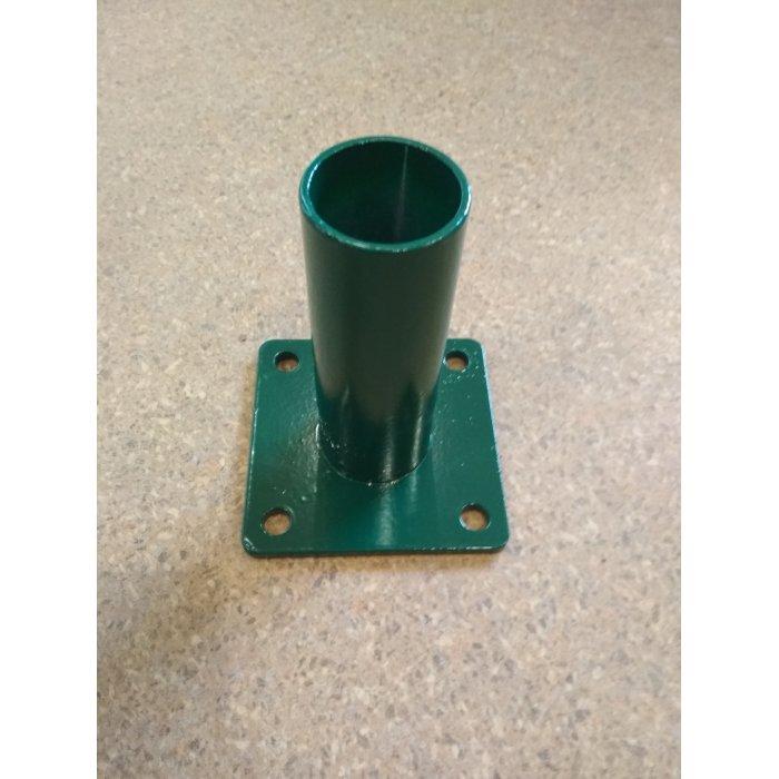 Pätka stĺpika 60mm k bránke/bráne zelená