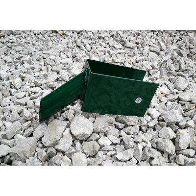 Držiak vzpery na betónovú dosku zelený