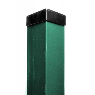 QUATRO stĺpik 260cm Zelený