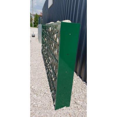 240cm Gabiónový stĺpik zelený