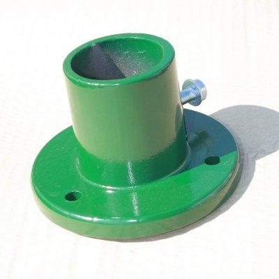 Pätka stĺpika 48mm Hliníková zelená