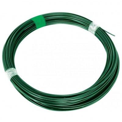 52m Napínací drôt zelený