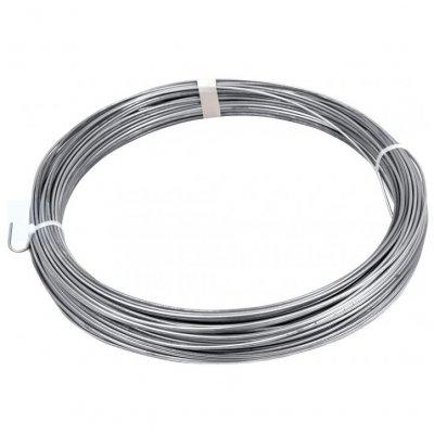 66m Napínací drôt pozink