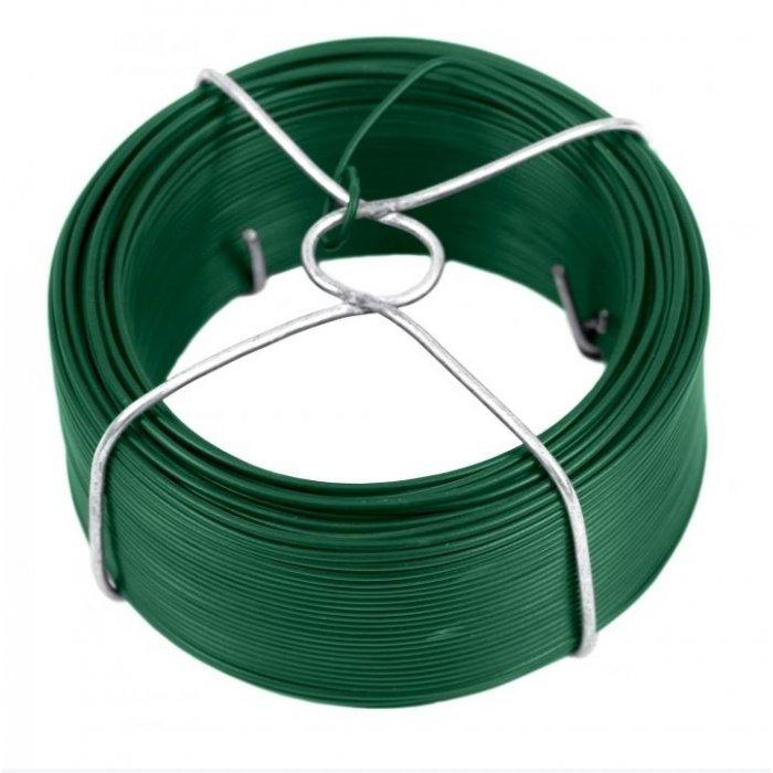 24m Viazací drôt zelený 1,4mm