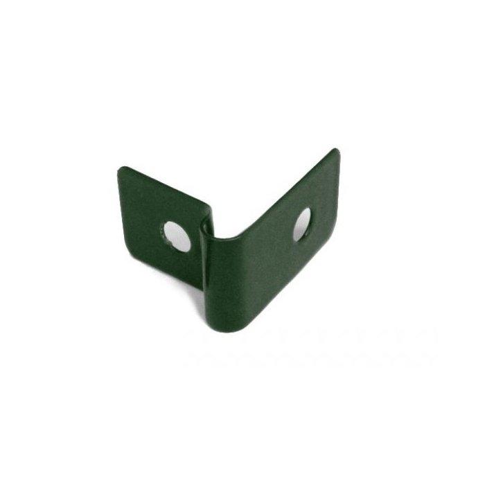Pliešok príchytka panelu 3D zelená