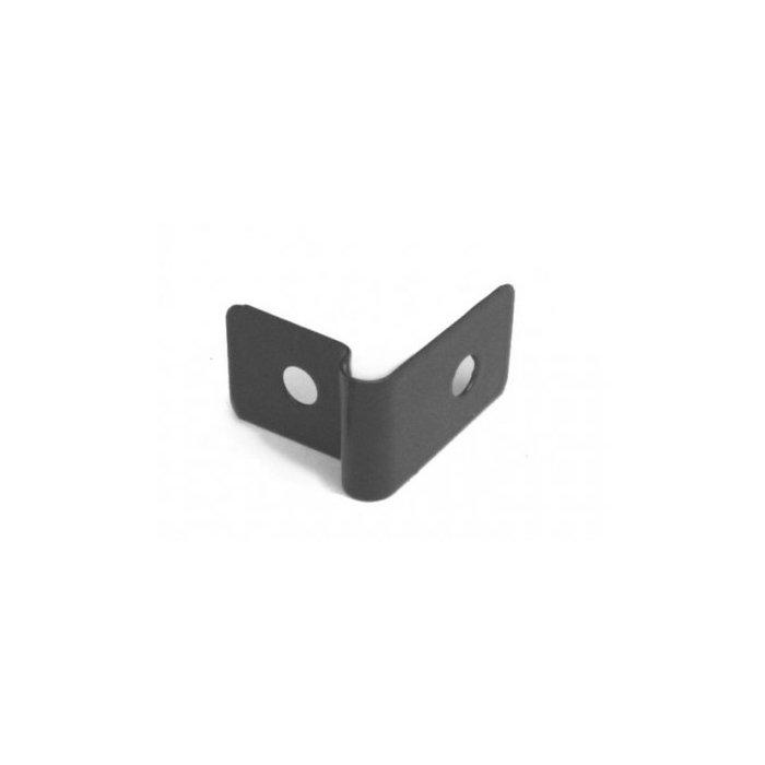 Pliešok príchytka panelu 3D antracit