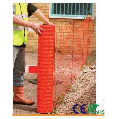 Bariérové pvc oplotenie 1x30m oranžové