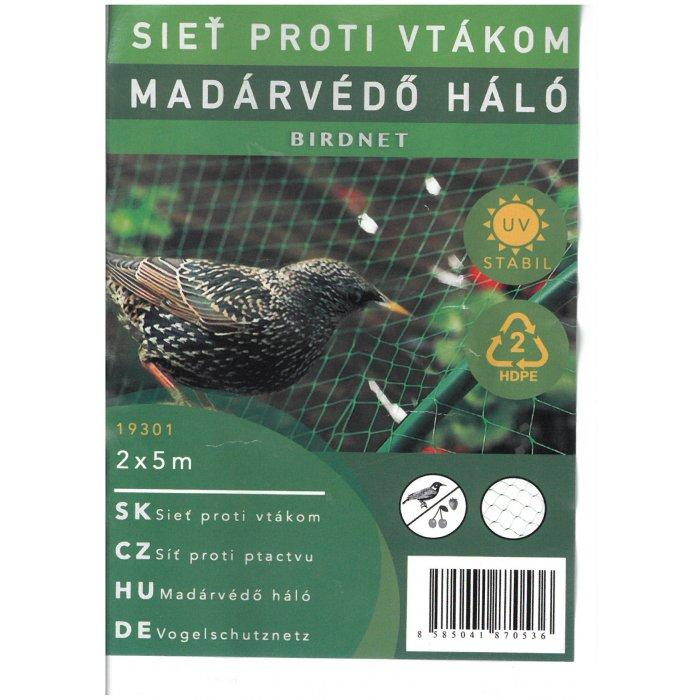BIRDNET sieť na ochranu pred vtákmi 2x5m