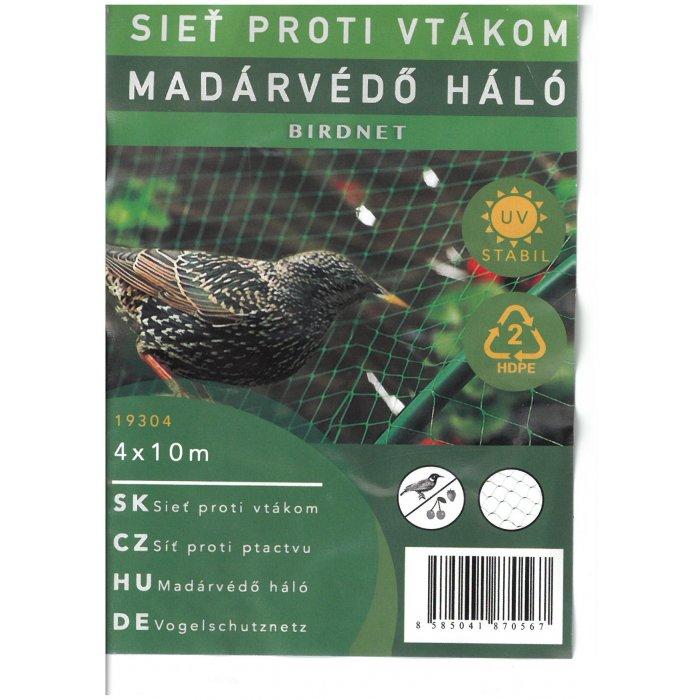 BIRDNET sieť na ochranu pred vtákmi 4x10m