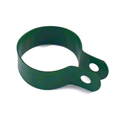 Objímka na stĺpik 48mm zelená
