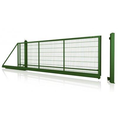 antracit gardia posuvná brána ručná