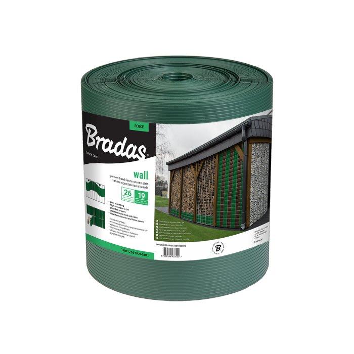 Zelená perform krycia páska k plotovým panelom