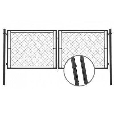 175x355cm Brána YDEAL antracitová