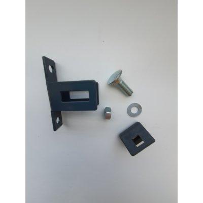 Metal STRONG bočná úchytka panela antracit
