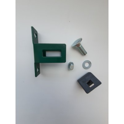 Metal STRONG bočná úchytka panela Zelená