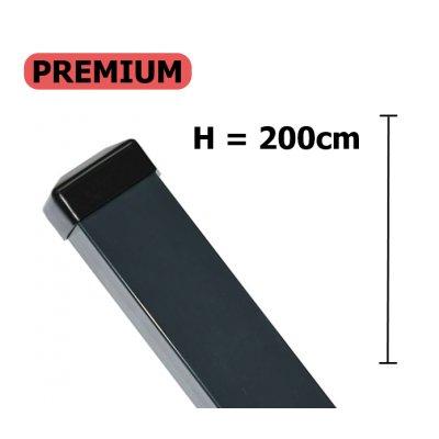 Premium Stĺpik 200cm antracit