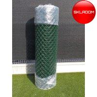 150cm Pletivo zn+pvc 50 zelené poplastované