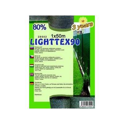 LIGHTTEX 100cm výška Tieniaca sieť 80% balík 50m