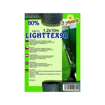 LIGHTTEX 120cm Tieniaca sieť 80% (10m)