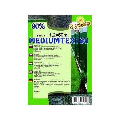 MEDIUMTEX 120cm výška Tieniaca sieť 90% balík 50m