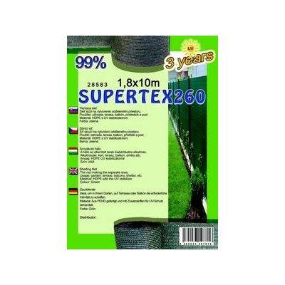 SUPERTEX 180cm výška Tieniaca sieť 99% balík 10m