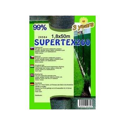SUPERTEX 180cm výška Tieniaca sieť 99% balík 50m