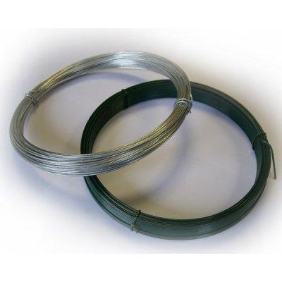 66m Napínací drôt zelený