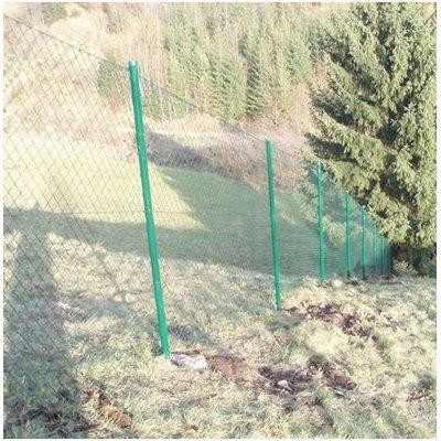 200cm výška Zostava oplotenie štvorhranné zn+pvc oko 5 zelené