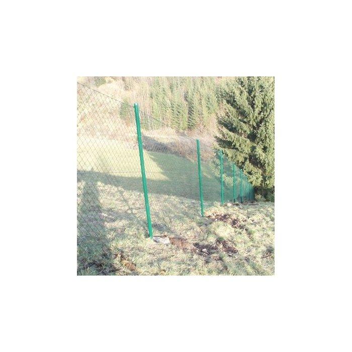Zostava oplotenie štvorhranné zn+pvc 150cm oko 5 zelené