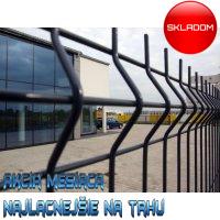 203cm Poplastovaný Panel APOLLO ANTRACIT / plotový diel