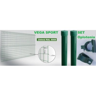 Set 153cm Zelený VEGA SPORT