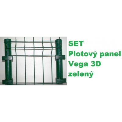 Set 123cm Zelený VEGA panel