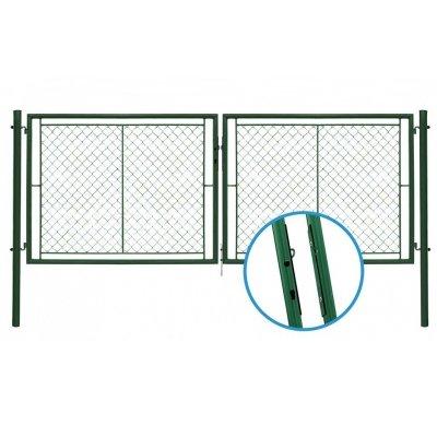 120x355cm Brána YDEAL zelená