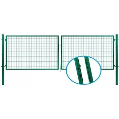 175x355cm Brána PROMOTION zelená