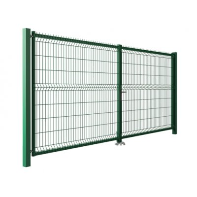 123x400cm brána MODEST zelená