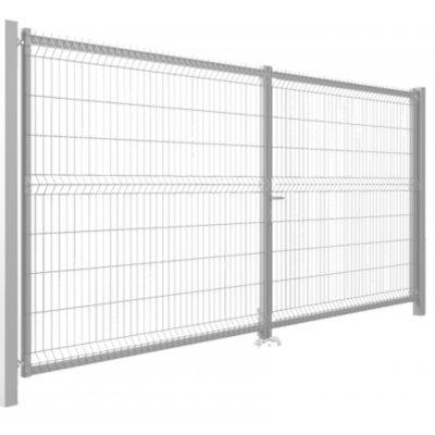 123x350cm Pozink Modest brána