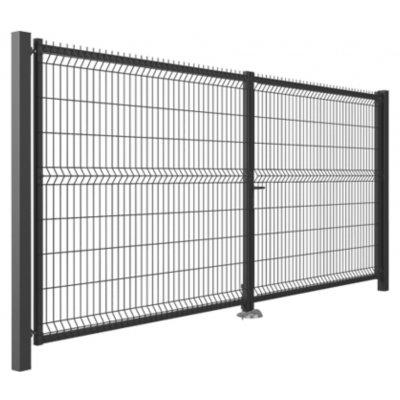 153x300cm Antracit Modest brána