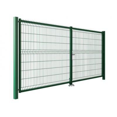 153x400cm brána MODEST zelená