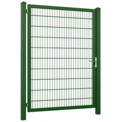 100x100cm Zelená Gardia bránka jednokrídlová