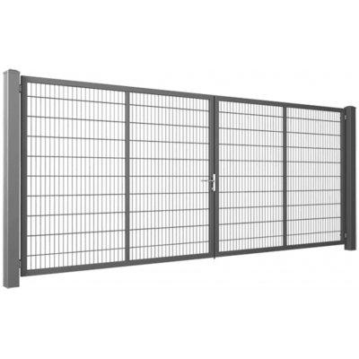 140cm Pozinkovaná Gardia brána 200-800cm