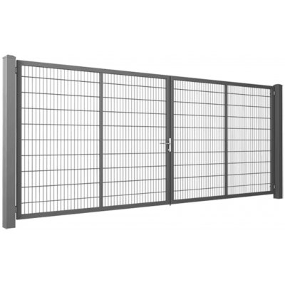 160cm brána GARDIA Premium pozinkovaná 200-800cm