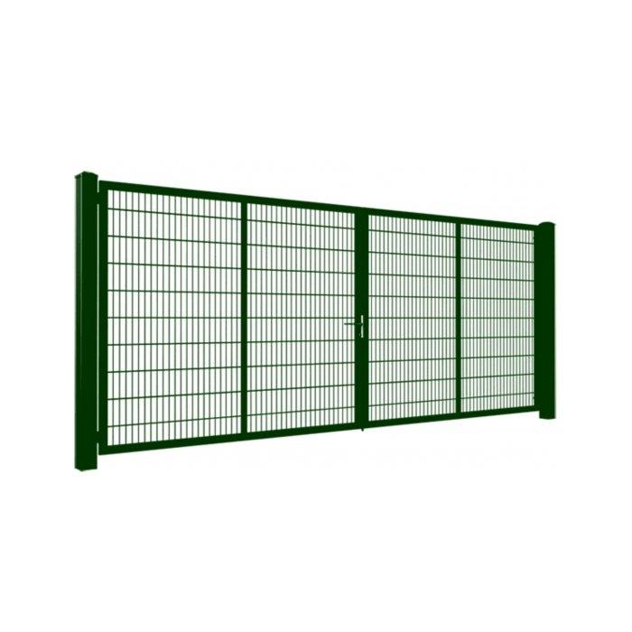 100cm Zelená Gardia brána 200-800cm