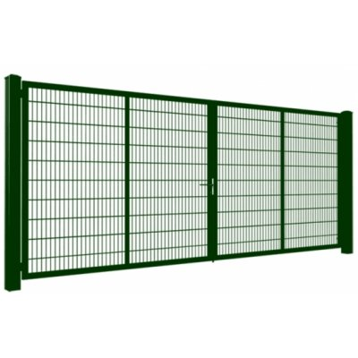 240cm Zelená Gardia brána 200-800cm