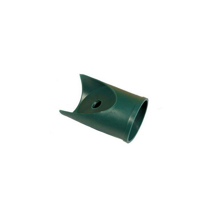 48mm Koncovka podpery PVC zelená