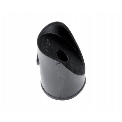 48mm Koncovka podpery PVC čierna