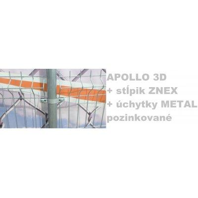 Set 203cm APOLLO + ZNEX + METAL Pozink